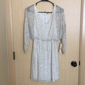 NWT Alice + Olivia sequin dress